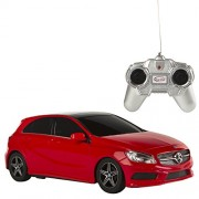 Rastar - Mercedes-Benz A-Class, coche teledirigido, escala 1:24, color rojo (ColorBaby 85050)