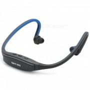 Cool Sport MP3 Player / auriculares con ranura para tarjeta TF - Negro + Azul