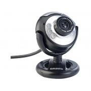 Hochauflösende USB-Webcam mit 6 LEDs, HD-Video (1280 x 1024 Pixel)