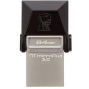 USB Flash Drive Kingston DataTraveler microDuo 3C 64GB USB 3.0 + USB Tip C