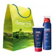 Set cadou - Deodorant cu ceai verde si gel pentru par cu minerale marine