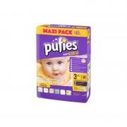 Scutece Pufies new maxi pack 3, 68/set