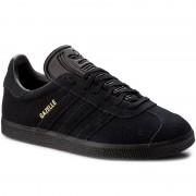 Обувки adidas - Gazelle BZ0029 Cblack/Cblack/Goldmt