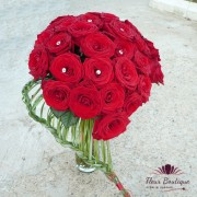 Buchet 33 trandafiri Red Passion BF041
