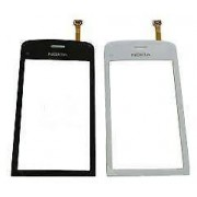 jshopping TOUCH SCREEN DIGITIZER PAD FRONT GLASS FOR NOKIA C5 C5-03 C503 - white