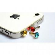 Záslepka na mobil diamant, Barva Bílá
