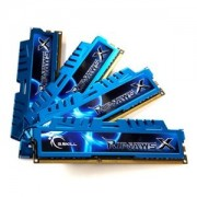Memorie G.Skill RipJawsX 16GB (4x4GB) DDR3 PC3-19200 CL11 1.65V 2400MHz Intel Z97 Ready Dual Channel Kit, F3-2400C11Q-16GXM