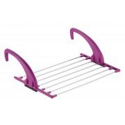 Meliconi Lock radiátorra akasztható ruhaszárító lila - 701401