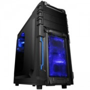 Кутия Chassis Vortex Middle Tower, ATX, 7 slots, 3 X 5.25', 3 X 3.5' H.D., 1 X USB2.0 / 2 x AUDIO / 1 x USB3.0, PSU Optional, VORTEX_402