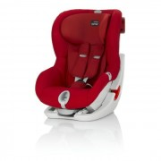 Britax Siege Auto King Ii Ls - Groupe 1 - Flame Red