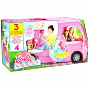Barbie - Barbie Pop-Up Camper lakóbusz