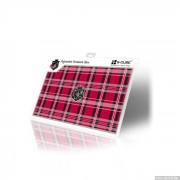 SKIN for Notebook, G-CUBE GSP-19R, Red