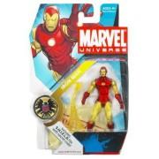 "Marvel Universe 3 3/4"" Series 3 Action Figure Iron Man (Classic)"