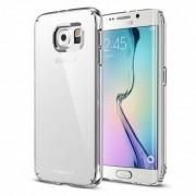 Husa Protectie Spate Ringke Slim Crystal Transparent + Bonus folie protectie display pentru Samsung Galaxy S6 Edge Plus