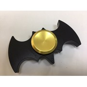 Black Batman Fidget Spinner | Hand spinner || Exclusive Fidget || Spins great || White finger hand spinner | Best your money can buy || Top spin AAA finger spinner ( Any one random Color Will Come ) ( One random color will come )