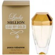 Paco Rabanne Lady Million Eau My Gold Eau de Toilette para mulheres 80 ml