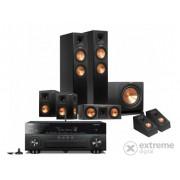 Set Yamaha RX-A850 + Klipsch RP-260F 5.1.2 Dolby Atmos, negru