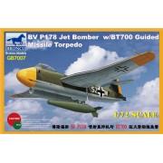 Bronco Models 1/72 Blohm & Voss Bv P178 Jet Bomber W/Bt700 Guided Missile Torpedo. Gb7007-Bronco Models