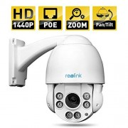Reolink RLC-423-LB IP Camera 4MP 1440P POE PTZ Security Camera 4X Optical Motorized Zoom Outdoor Speed Dome