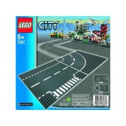 LEGO City - Curbe si intersectie (7281)