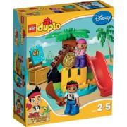 LEGO DUPLO Jake en de Nooitgedachtland Piraten Schateiland - 10604