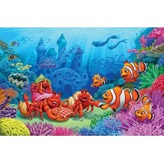 Clown Fish Greeting 60 pcs. - Jigsaw Puzzle by Cobble Hill Puzzles (56108) by Cobble Hill Puzzles