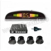 Kit 4 senzori de parcare cu display LED