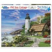 White Mountain Puzzles Old Sea Cottage - 1000 Piece Jigsaw Puzzle by White Mountain Puzzles