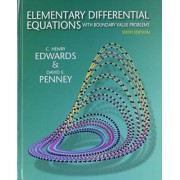 Elementary Differential Equations with Boundary Value Problems and Student Solutions Manual by C Henry Edwards