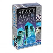 Kristal Educational Space Age Crystal Growing Kit: 4 Crystals (Aquamarine, Azurite, Diamond)