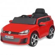 "vidaXL детска кола ""VW Golf GTI 7""с дистанционно управление, червена"