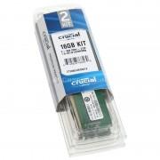 Crucial Value Series DDR4-2133, CL15 - 16 GB Kit DDR4 PC17000/2133MHz CL15 2x8GB (CT2K8G4DFD8213)