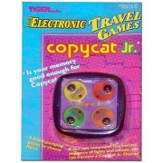 Copycat Jr. Electronic Handheld Game Model 92-004 Tiger Electronics 1996