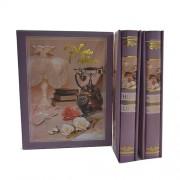 Album foto coperti mov - cu telefon vintage