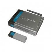 "ROUTER cu management, D-LINK model: Wireless G Kit; WIRELESS; PORTURI: 4 x RJ-45 ; ""DWL-922"""