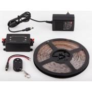 1311UWW-180-12VF / 3 méter beltéri LED szalag tápegységgel és fényerõszabályzóval