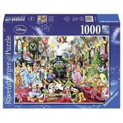 Ravensburger puzzle craciunul in familia disney, 1000 piese