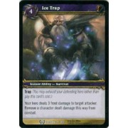 World of Warcraft Hunt for Illidan Single Card Ice Trap #37 Common [Toy]