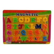 IndiPlay Magnetic Alphabets & Numbers - Ideal for kids - Excellent learning kit ( 3 cm per alphabet)
