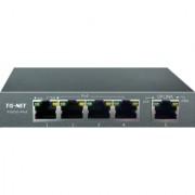 TG-NET FAST EATHERNET POE SWITCH P1005D-4POE-60W