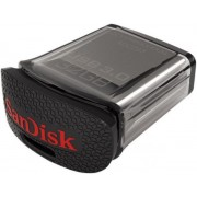 Stick USB SanDisk Ultra Fit, 32GB, USB 3.0, Negru