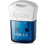 Памет Apacer Flash Drive AH157, 16GB, USB 3.0, Синя, AP16GAH157U-1