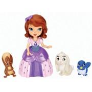 Disney Princesa Sofía - Figuras de Princesa Sofía y animales (Mattel Y6640)