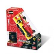 R/C Auto Burago- Ferrari F10 Scala 1:32 Macchina radiocomandata c/Rc a bracciale 41211