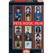 Educa Puzzle Pets Rock Film 500 de piese 15553