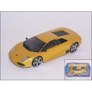 Bburago 1/43 Lamborghini Murciélago LP 640 Yellow (Closed Roof)