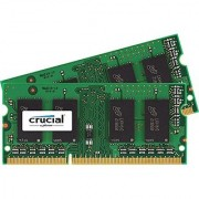 Crucial 8GB Kit (4GBx2) DDR3/DDR3L 1066 MT/s (PC3 8500) SODIMM 204 Pin Mac Memory - CT2K4G3S1067M