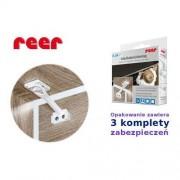 reer GmbH Zabezpieczenie szafki i szuflady, 3szt, REER