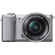 Sony Alpha ILCE-5000L Systeemcamera, SEL-P1650 Zoom, 20,1 Megapixel, 7,5 cm (3 inch) Display
