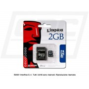 MEMORY CARD MICRO SD KINGSTON 2 GB